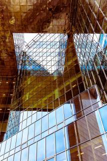 Glas Fassade