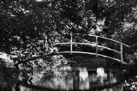 Kleine Holzbrücke