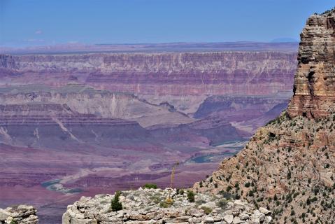 Grand Canyon Sicht vom South Rim