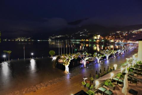 Ascona; Regen Nacht