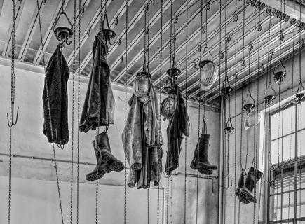 Umkleideraum von Berkwerks Arbeitern.