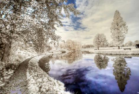 Im Schlosspark von Raesfeld!