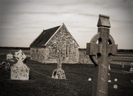 Alter Friedhof in Irland