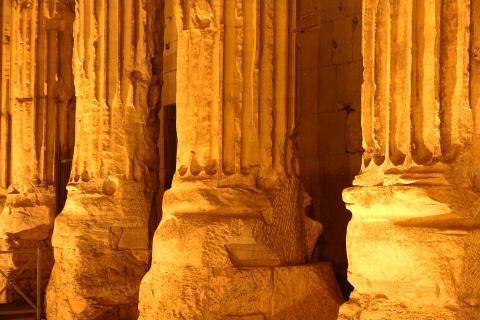 Rom -Säulen des Pantheon