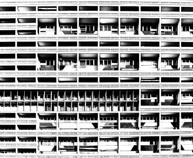 Wohnmaschine -  Le Corbusier Haus in Berlin