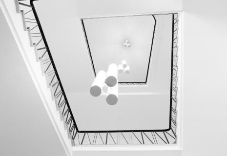 Treppe in der Leibnitz Universität in Hannover