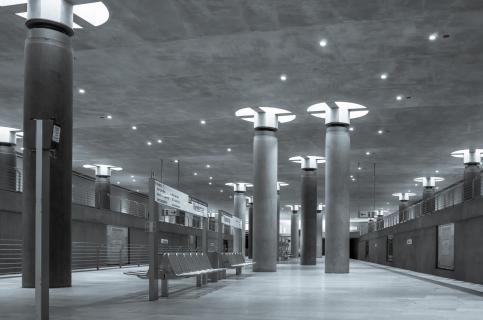 U- Bahnstation Bundestag
