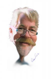 Portrait als Karikatur