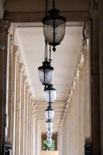 Lampenreihe