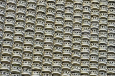 Balkony in Bangkok