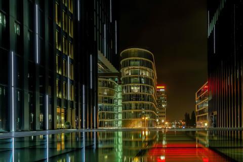 Am Hyatt Düsseldorf