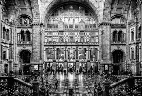 Antwerpen Railway Station