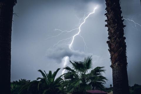 Gewitter auf Mallorca