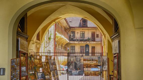 Prag Innenhof