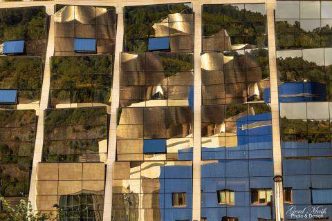 Spiegelung Museum Guggenheim