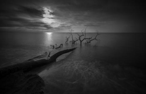 Abendstimmung an der Ostsee