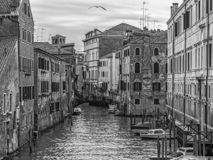 Venedig schwarz/weiß