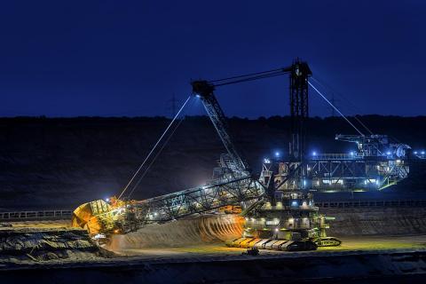 Kohlebagger Tagebau