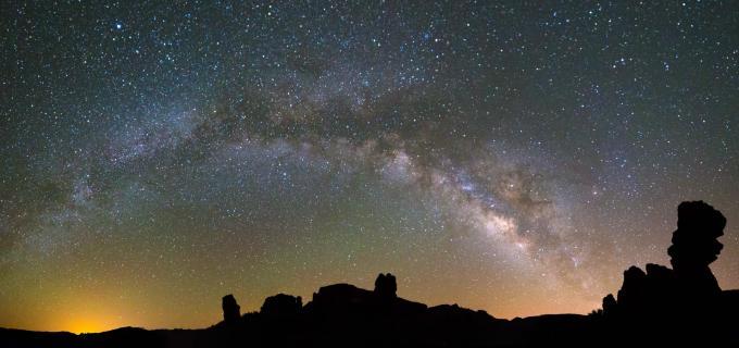 Milkway at Teide