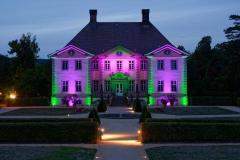 Schloss Schieder beleuchtet 1