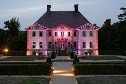 Schloss Schieder beleuchtet 2