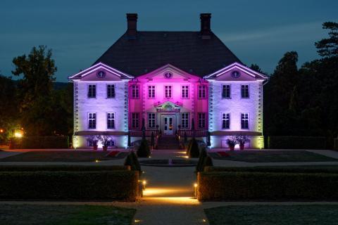 Schloss Schieder beleuchtet 3