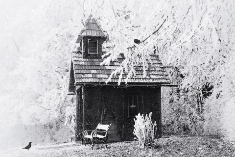 Idyllische Waldkapelle