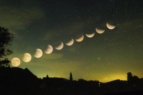 Mondfinsternis Serie