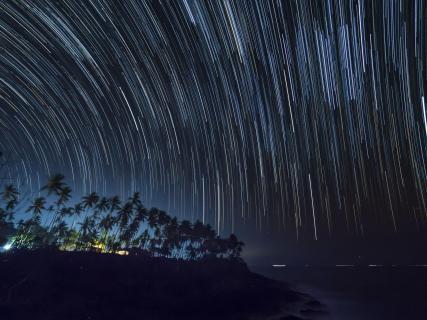 Sri Lanka Star Trail