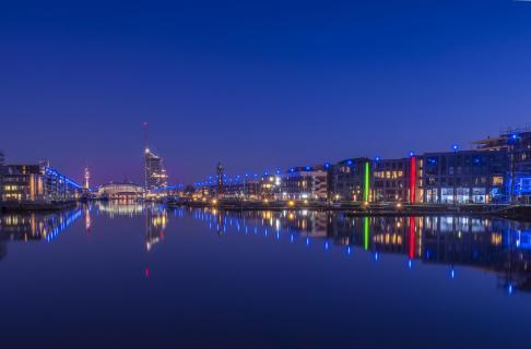 Bremerhaven Blaue Stunde