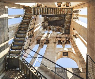 Im Glockenturm von Split