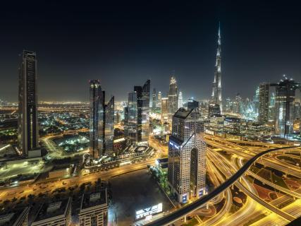Dubai: Sheikh Zayed Road