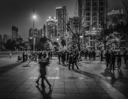 China public dancing