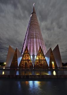 Kathedrale in Maringá, PR, Brasilien