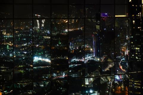 Spiegelung bei Nacht...