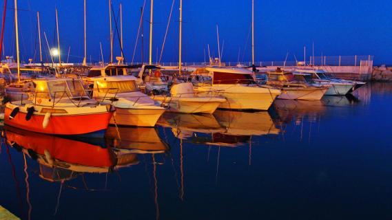 Französischer Hafen
