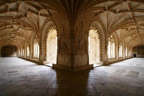 Kloster in Lissabon