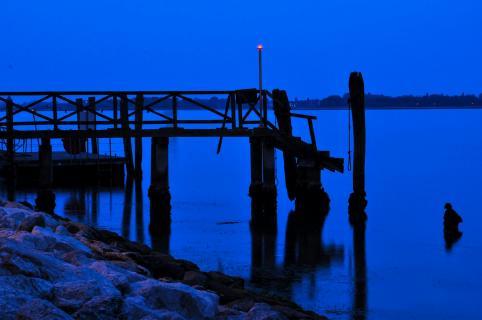 Punta Sabbioni vor Sonnenaufgang