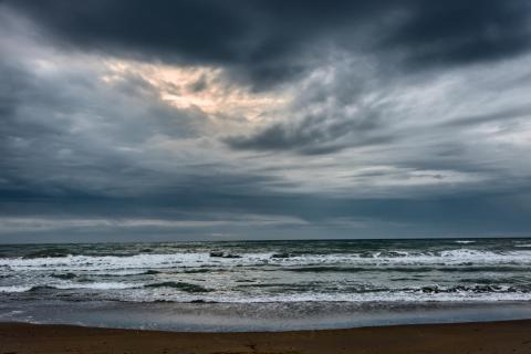 Sturmwolken über der Adria