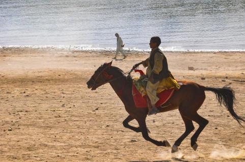 Afghanischer Reiter