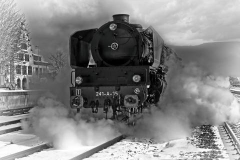 Dampflok 241 A 65
