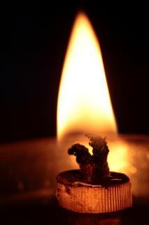 indische Oel-Lampe