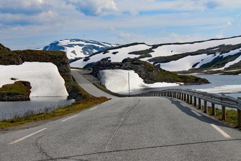 Geltscherwelten in Norwegen