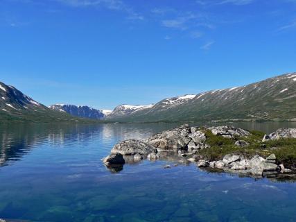 Seenlandschaft in Norwegen