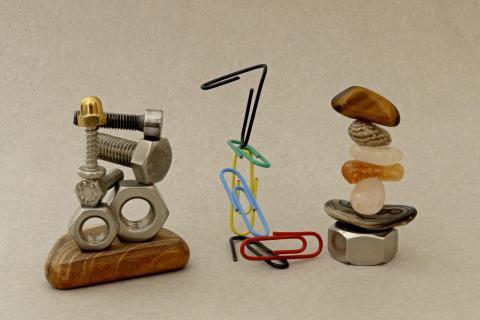Mini-Skulpturen