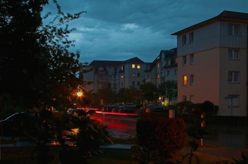 Samstag Abends in unserer Straße