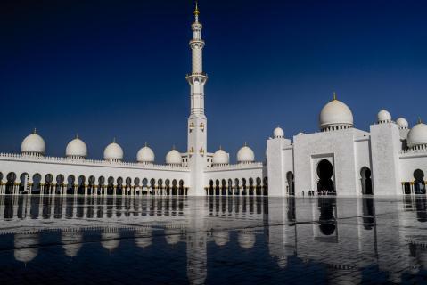 sheik zayed moschee - 2