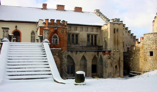 Palast und Parkkomplex in Młoszowa
