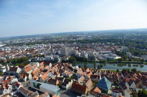 Hoch hinaus: Stadt von oben