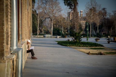 Im Golestan-Palst, Teheran